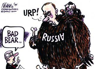 Analogia recesji jako niedźwiedzia i Rosji jako niedźwiedzia