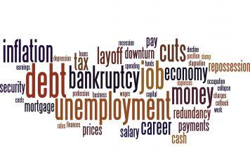 strach przed recesją