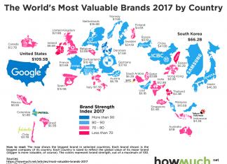 największe firmy w poszczególnych krajach